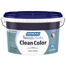 RENOVO Dispersionsfarbe »Modern Family.«, Cool Petrol, matt