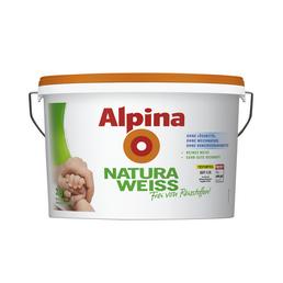 alpina Dispersionsfarbe »Naturaweiß«, Naturaweiß, matt