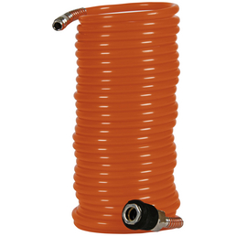 EINHELL Druckluftspiralschlauch orange Ø 6 x 8000 mm