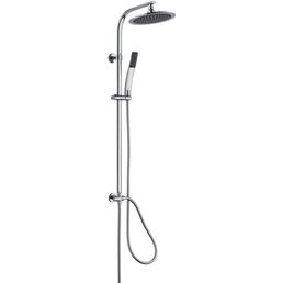 SCHÜTTE Duschsäule »Stiloval«, Höhe: 104 cm, chromfarben