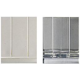 KLEINE WOLKE Duschvorhangklammern, 4,5 cm, transparent