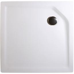 WELLWATER Duschwanne, BxT: 90 x 90 cm, weiß