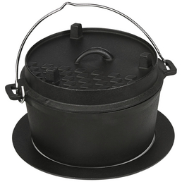 MR. GARDENER Dutch-Oven, Gusseisen, Höhe: 5 cm