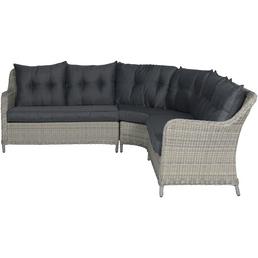 GARDEN IMPRESSIONS Eckbank »Milwaukee«, 6-Sitzer, B x T x H: 237 x 237 x 85 cm