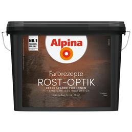 alpina Effektfarbe »Farbrezepte« in Rost-Optik, rostfarben, 1,2 l