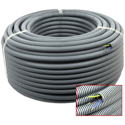 Elektrorohr Flex , grau 20mm 50m H07V-U 3x1,5mm2