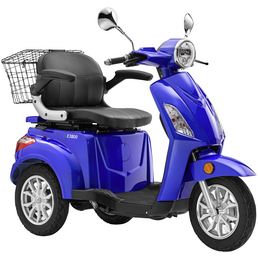 LuXXon Elektroroller »E3800«, max. 20 km/h, Reichweite: 63 km, blau
