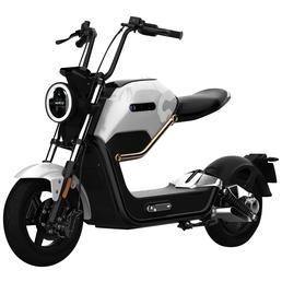 DIDI THURAU Elektroroller »Max«, max. 45 km/h, Reichweite: 45 km, weiß/schwarz