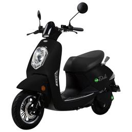 DIDI THURAU Elektroroller »Roma«, 45 km/h (max.), schwarz