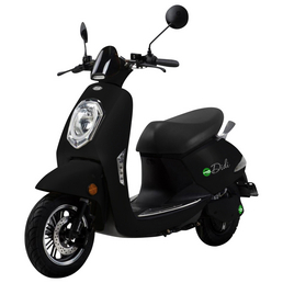 DIDI THURAU Elektroroller »Roma«, max. 45 km/h, Reichweite: 50 km, schwarz