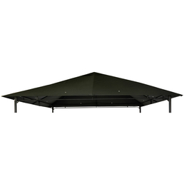 CASAYA Ersatzdach, BxT: 295 x 295cm, anthrazit, polyester|stahl
