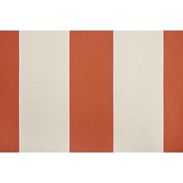 Fallarmmarkise, BxT: 236 x 160 cm, creme/orange gestreift