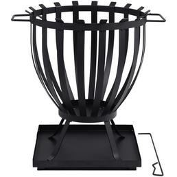 TEPRO Feuerkorb, Höhe: 57  cm, schwarz