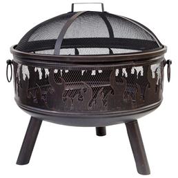 Feuerschale »Wildfire«, Ø 61 cm, Höhe: 61 cm, bronzefarben