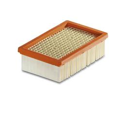 KÄRCHER Flachfaltenfilter, BxHxL: 12,5 x 6 x 20 cm, Papier