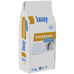 Knauf Flächenspachtel, Gelbband, Weiß, 5 kg, 0-4 mm Körnung