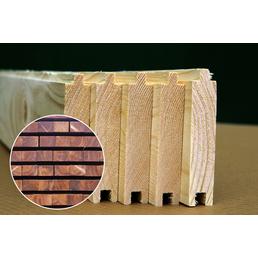PALMAKO AS Fußboden für Gartenhäuser für Gartenhäuser »Tina 13,5«, BxHxt: 359 x 1,9 x 389 cm, Holz