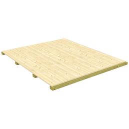 MR. GARDENER Fußboden »Modular«, Fichte natur