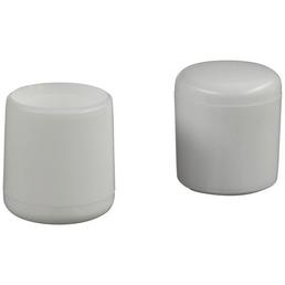 HETTICH Fußkappe, Kunststoff, Weiß, Ø 18 x 25 mm