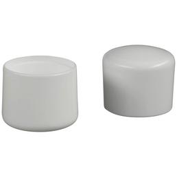 HETTICH Fußkappe, Kunststoff, Weiß, Ø 30 x 25 mm