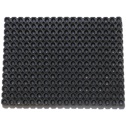 Fußmatte, Schwarz, Gummi