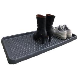 Fußmatte, Schwarz, Kunststoff