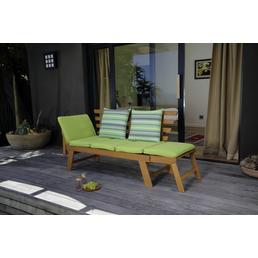 CASAYA Gartenbank »Dilo«, 4-Sitzer, BxTxH: 221 x 75 x 96 cm
