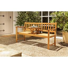 CASAYA Gartenbank »Talana«, 3-Sitzer, BxTxH: 159 x 60 x 88 cm