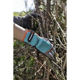 GARDENA Gartenhandschuhe, Größe: L(9), schwarzgrau, KeraTect-glasiert
