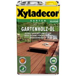 XYLADECOR Gartenholzöl, für außen, 2,5 l, natur hell, seidenglänzend