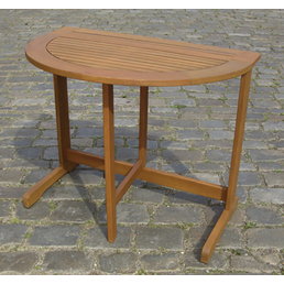 MERXX Gartentisch, BxHxT: 90 x 74 x 60 cm, Tischplatte: Eukalyptusholz