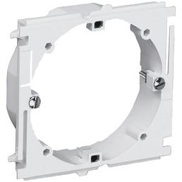 Geräte-Einbaurahmen für Brüstungskanal, Weiß