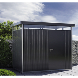 BIOHORT Gerätehaus »HighLine«, Außenmaße B x T x H: 275  x 275  x 222  cm