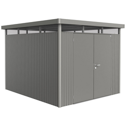 BIOHORT Gerätehaus »HighLine«, Außenmaße B x T x H: 275  x 315  x 222  cm