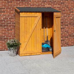 MR. GARDENER Geräteschrank, BxHxT: 149 x 160 x 79 cm, braun