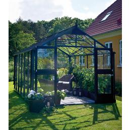 JULIANA Gewächshaus »Premium«, 12,99 m², Aluminium, winterfest