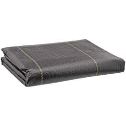 Gewebematte, Kunststoff, schwarz, BxL: 2 x 10 m