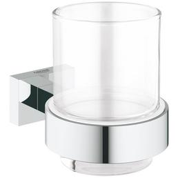 GROHE Glas »Essentials Cube«, chromfarben