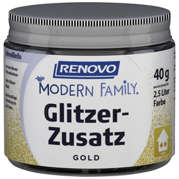 RENOVO Glitzerzusatz »Modern Family«, goldfarben, 40 g