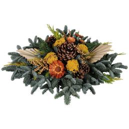 Grabbouquet, Tanne, Ø 60 cm, garniert, natur
