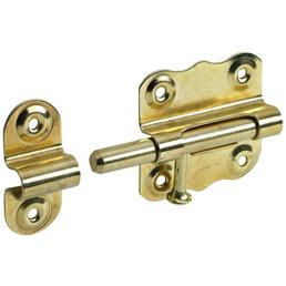 HETTICH Grendelriegel Stahl gold 45 x 50 mm 5 St.
