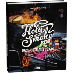 Grillbuch »Holy Smoke BBQ«, 220 Seiten