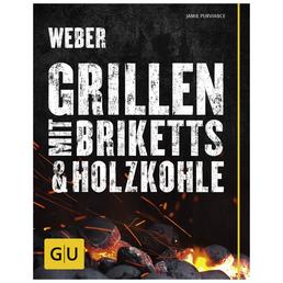 WEBER Grillbuch »Weber's Grillen mit Briketts & Holzkohle«, Taschenbuch