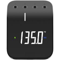 WEBER Grillthermometer, Per USB wiederaufladbarer Akku, WLAN- und Bluetooth®-fähig, Integrierter Magnet, 9-SEGMENT-LED-ANZEIGE