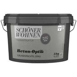 SCHÖNER WOHNEN FARBE Grundspachtel »Trendstruktur«, grau, 2 m²/kg