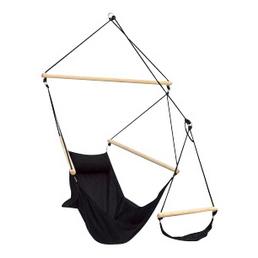 AMAZONAS Hängesessel »Swinger«, Liegefläche: 107 x 78 cm, schwarz