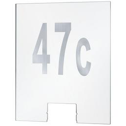 PAULMANN Hausnummer , transparent