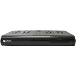 NABO HD Sat Receiver, 6.000 Programmspeicherplätze, Schwarz