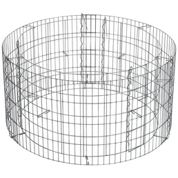 Hochbeet »Basic«, Ø 81 x 40, Stahl