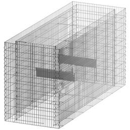 Hochbeet, HxL: 100 x 75 cm